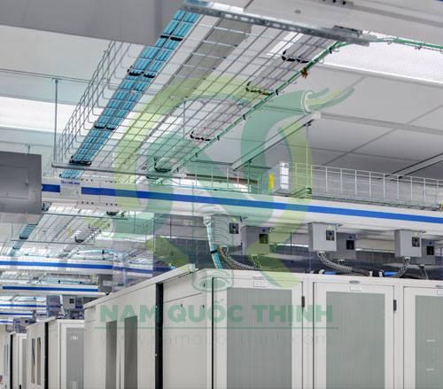 Thanh gia cố sự dụng trong hệ thống máng lưới