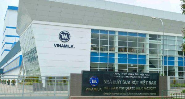 Máng lưới inox 304 – 50x50 mm của Nam Quốc Thịnh tại nhà máy VINAMILK chất lượng