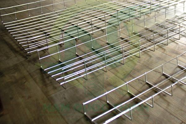 Máng lưới inox 50x50 mm, 200x50 mm