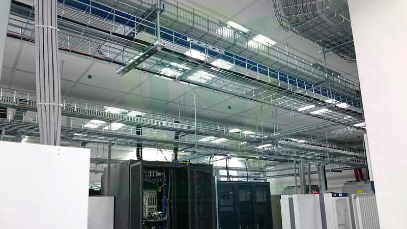 Wire mesh cable tray 2